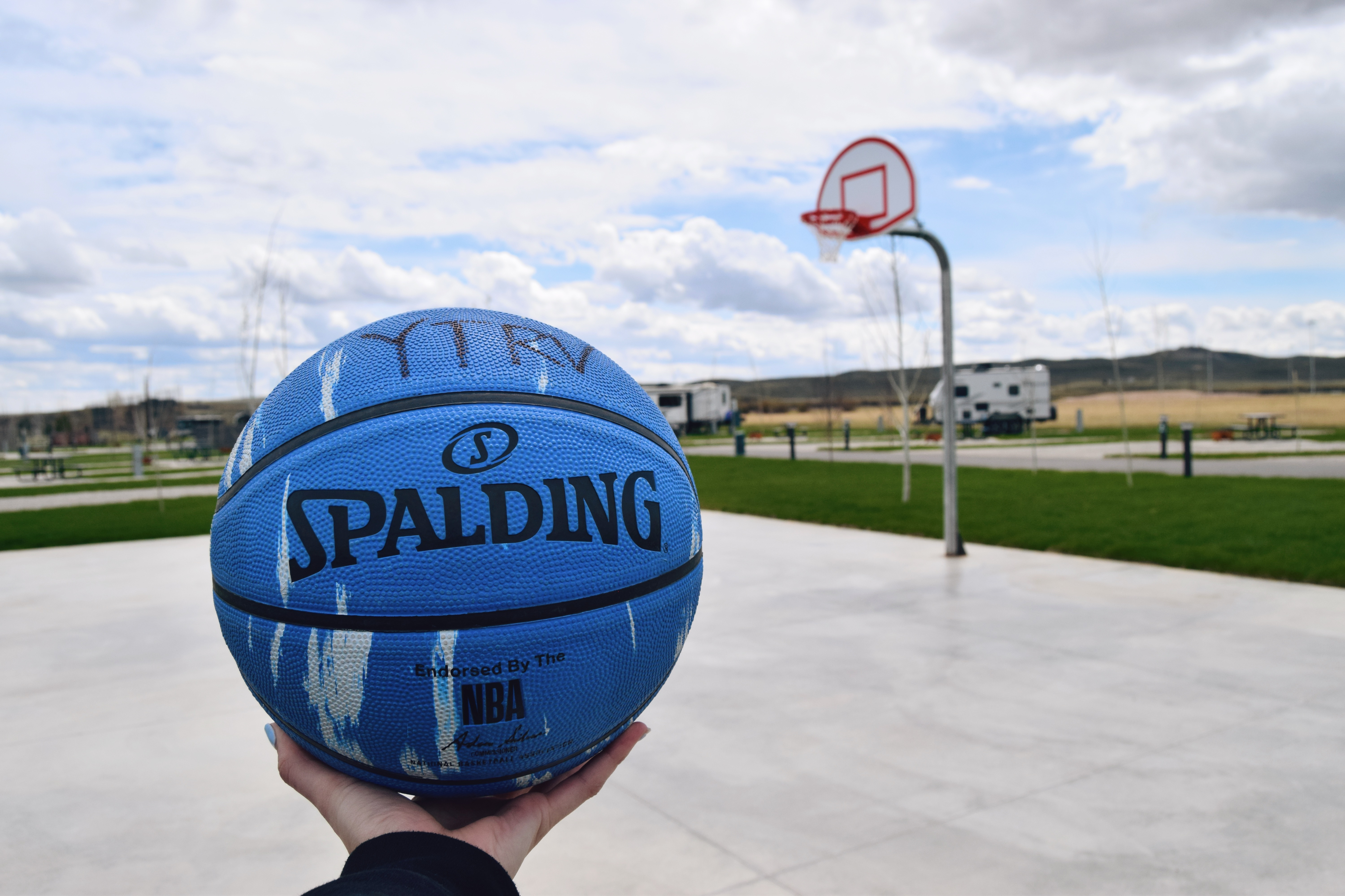 Don't forget to stop by our sport courts!