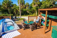 Deluxe Tent Sites