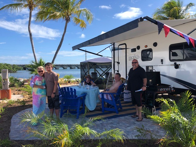 A Variety of RV Sites to fit all of your needs.