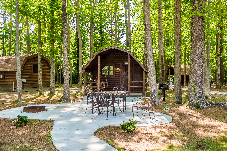 Rustic Camping Cabins