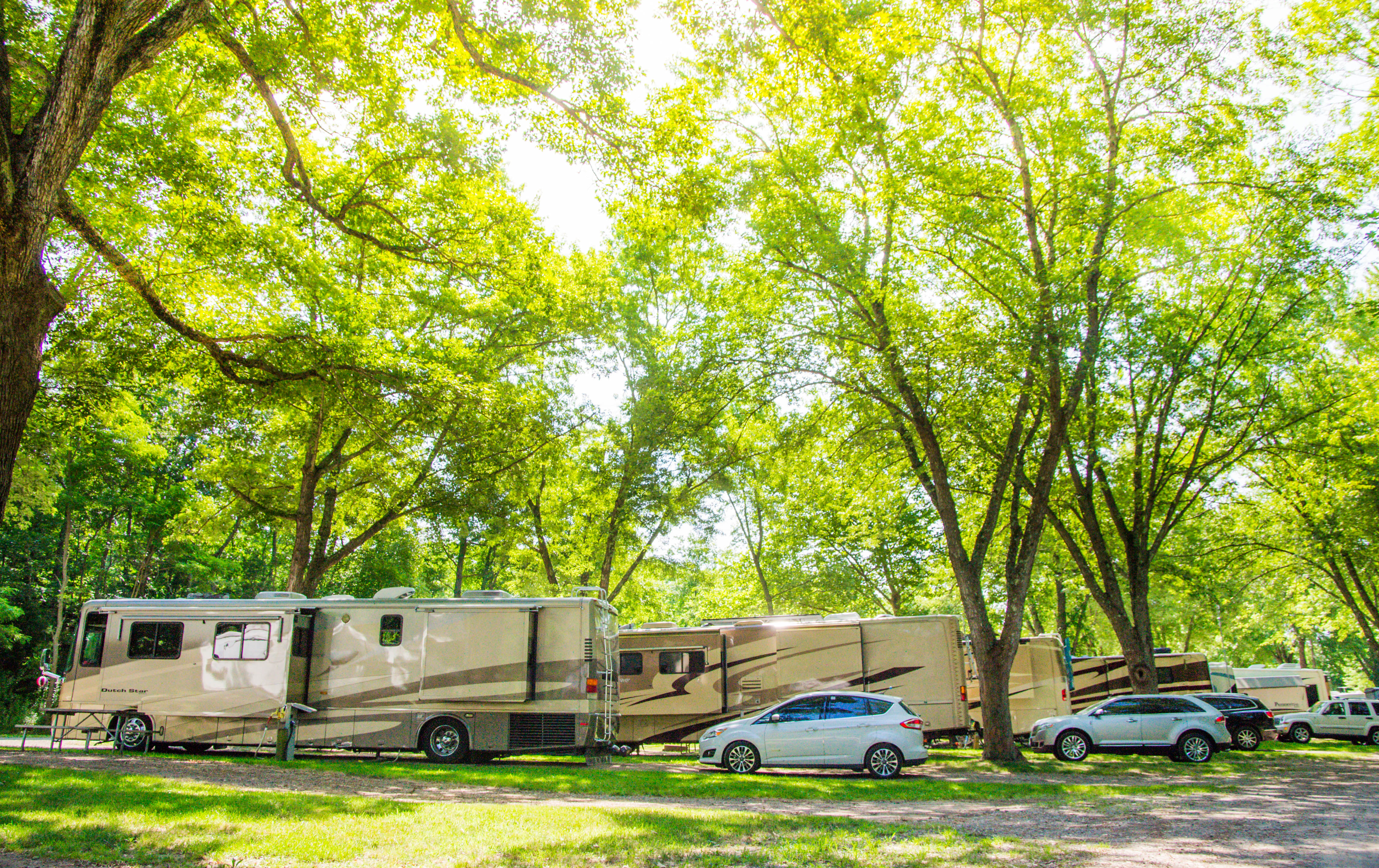 Located RIGHT off I95, our RV sites are easy in, easy out as you rest up from your journey.
