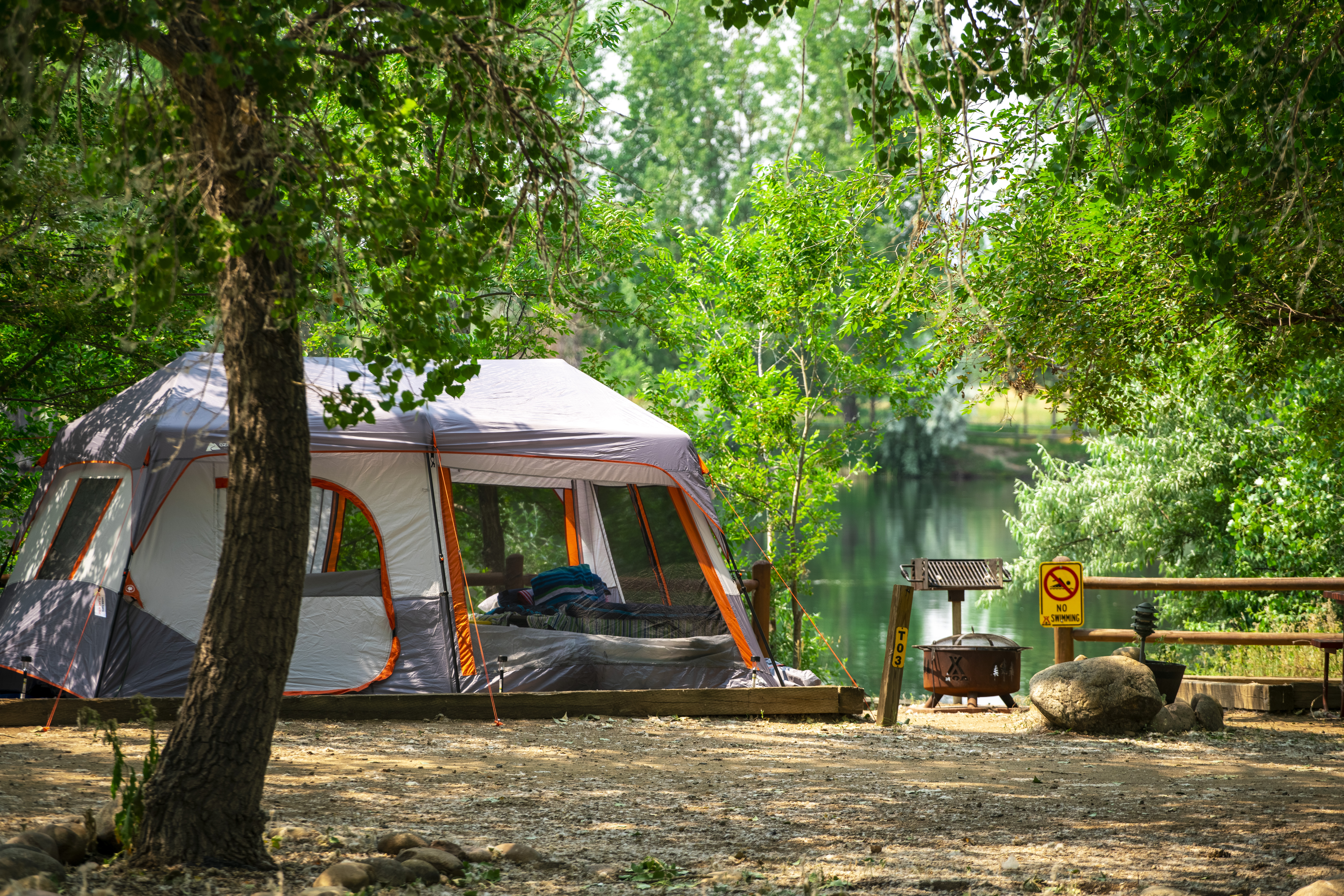 Lakeside Tent Site