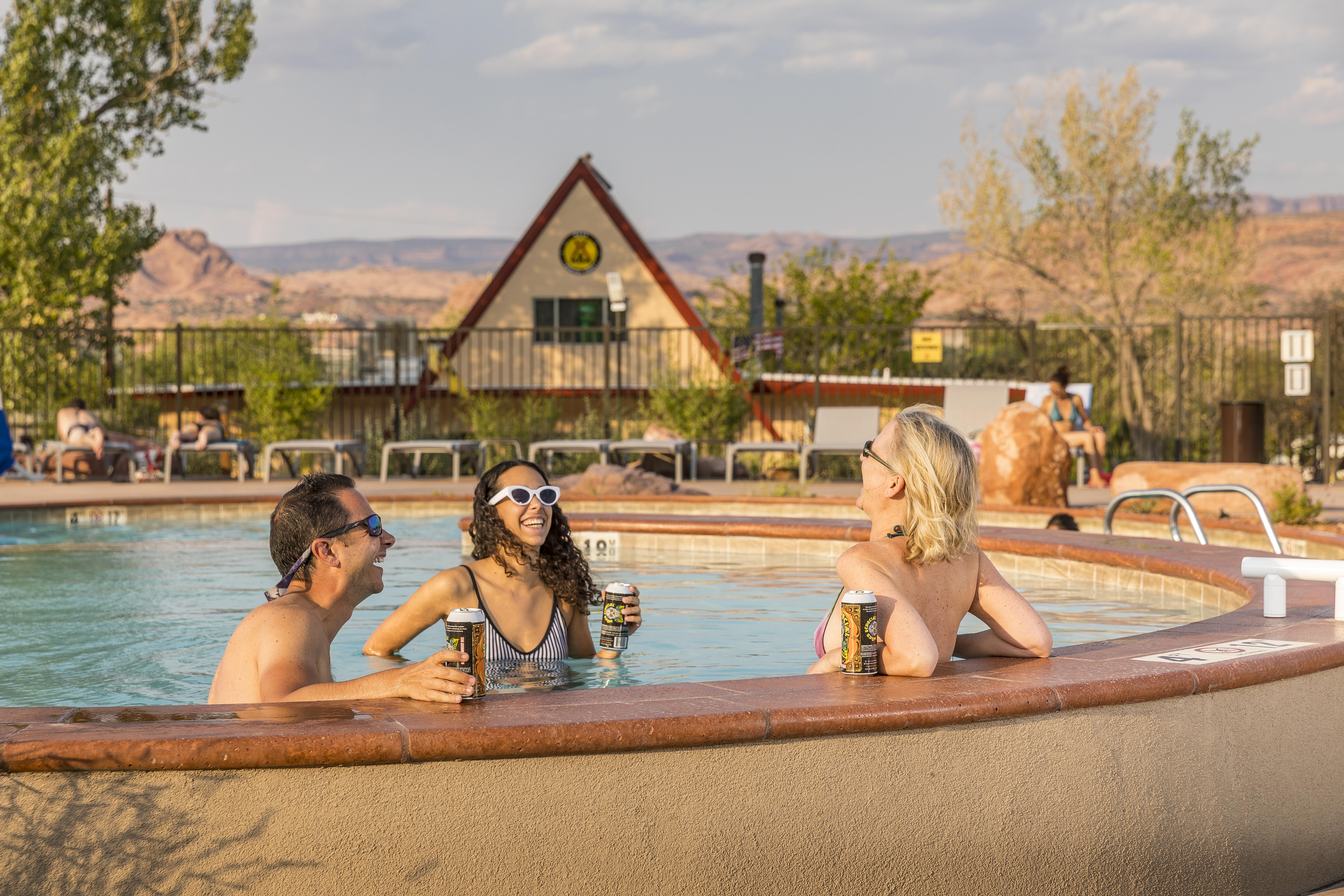 Moab's Biggest Pool