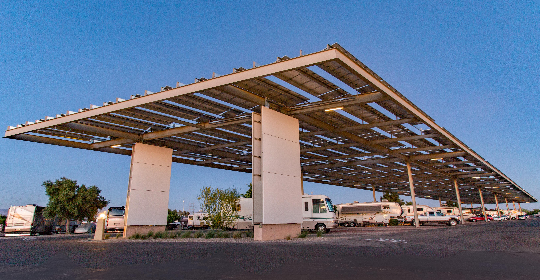 Solar Shade RV Sites